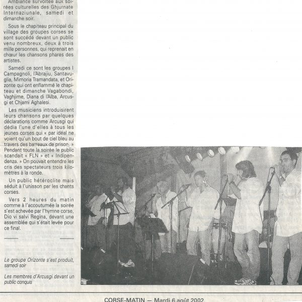 corse matin 06.08.2002