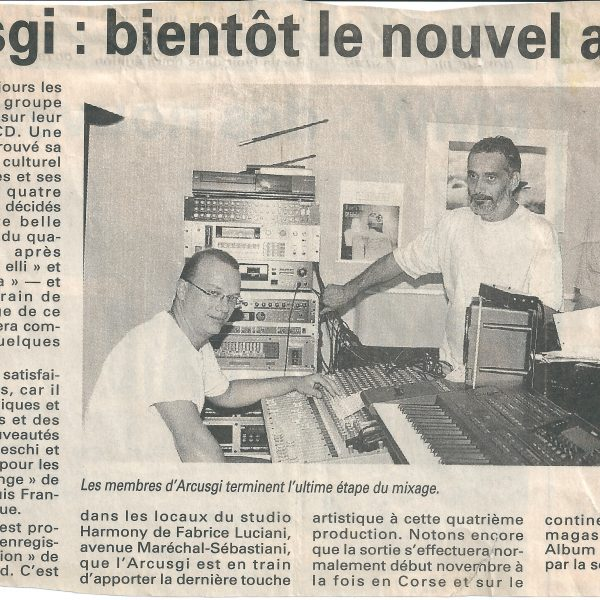 corse matin enregistrement testimone (3) 1997