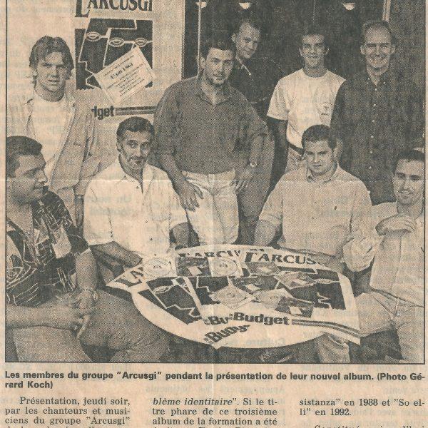 présentation scrittori le provencal 8.09.1996